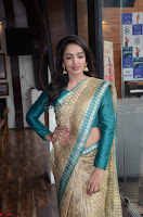 Tejaswi Madivada looks super cute in Saree at V care fund raising event COLORS ~  Exclusive 020.JPG