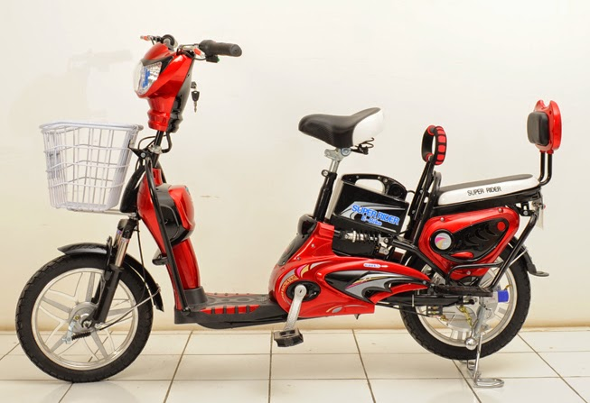 Sepeda Listrik Super rider Earth - MARS