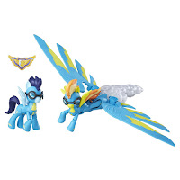 MLP Guardians of Harmony Spitfire and Soarin' Figures