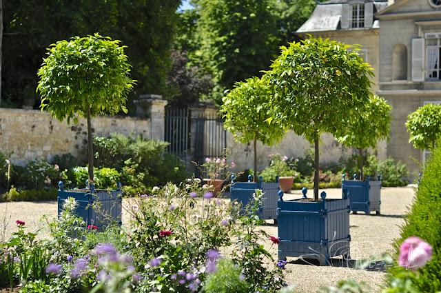 Chateau de Malmaison - ogród Józefiny Bonaparte