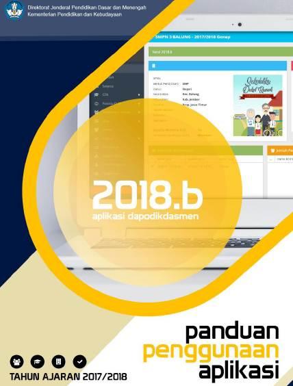 Panduan Penggunaan Aplikasi Dapodik Versi 2018.b PDF