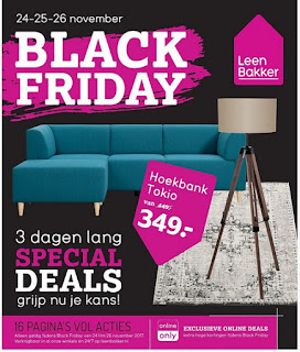 Leen Bakker Folder Week 47, 20 – 26 November 2017 Black Friday