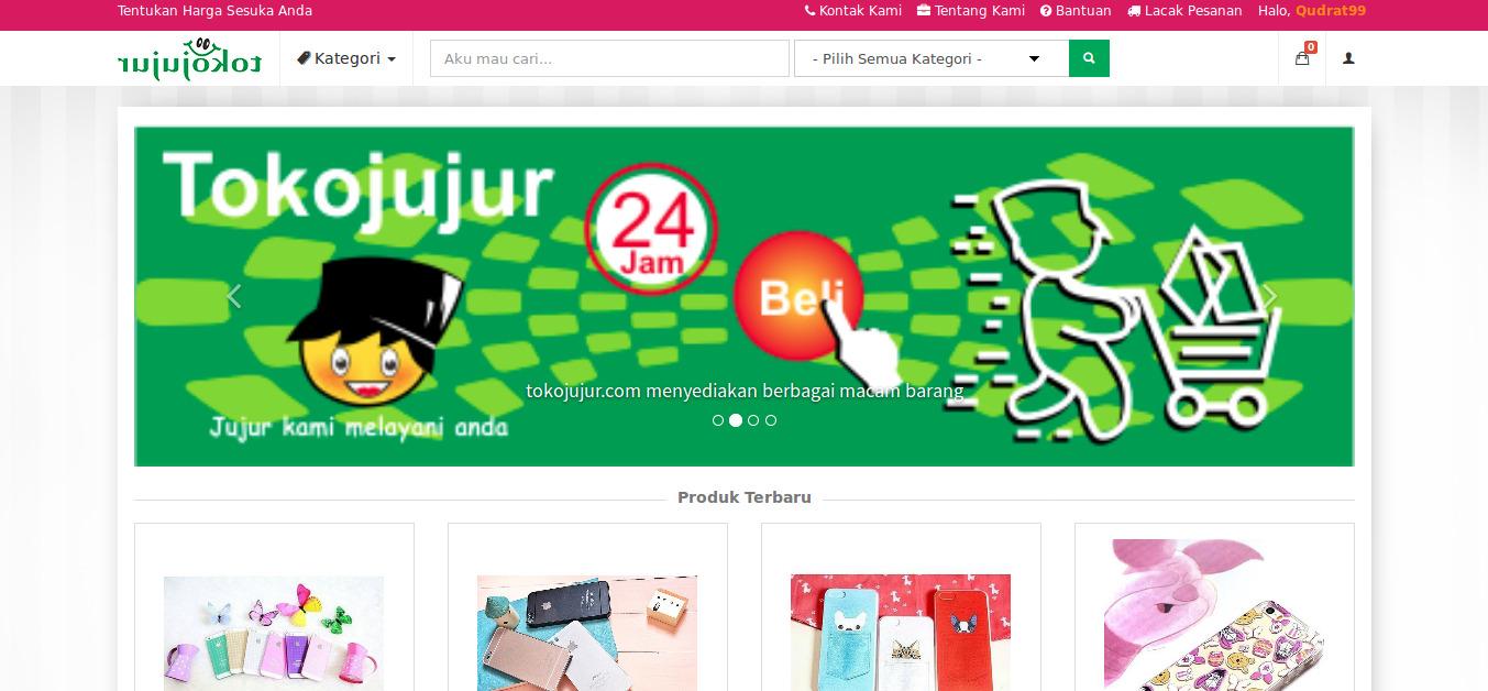 Website Toko Online Aksesoris HP Dan Perlengkapan Lainnya | Tokojujur | tokojujur.com | FajarPunya | www.fajarpunya.com authoor