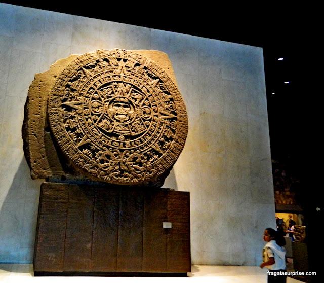 Calendário Asteca, Museu Nacional de Antropologia do México