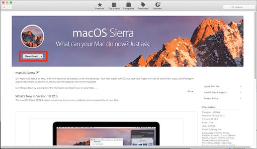 Cara download MacOS