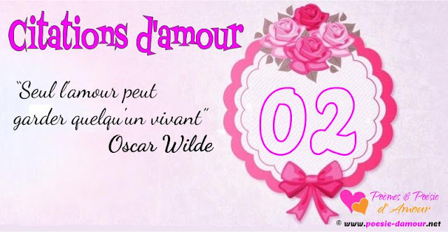 Citations d'Oscar Wild sur l'amour