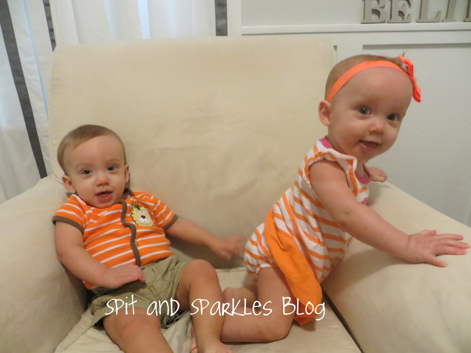 9 month twins