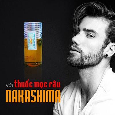 Mẹo sử dụng thuốc mọc râu Nakashima hiệu quả