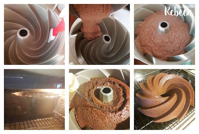 Receta de bundt cake de café glaseado 03