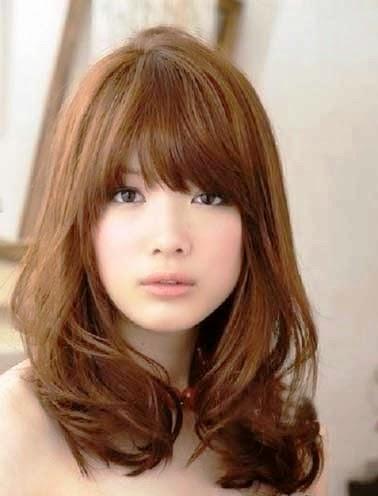 Model Rambut Sebahu Terbaru Muka Bulat Dan Kotak Oleh Jiehan - Gaya rambut pendek smoothing