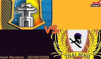 4vs4 Random - Thái Bình vs Hà Nội - 30/09/2020