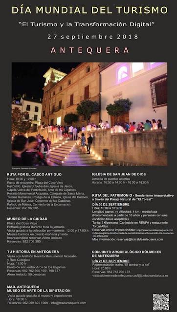 Día Internacional del Turismo 2018 en Antequera