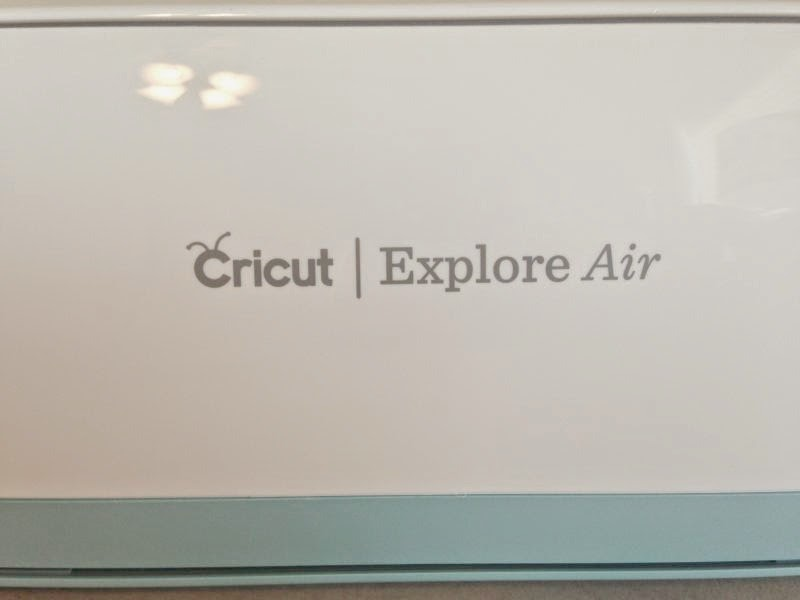 Cricut Explore Air Out of the Box - machine closeup