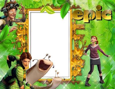 Marco para fotos inspirado en la película Epic