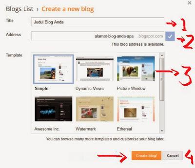 Cara Membuat Blog dalam Waktu 5 Menit