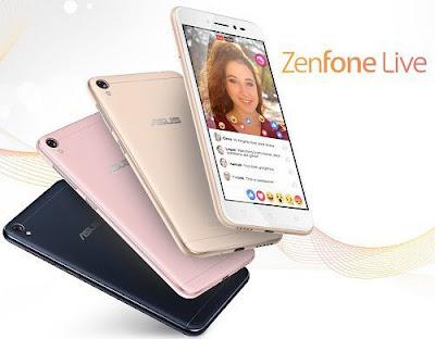 Harga Asus Zenfone Live Terkini dan Spesifikasi