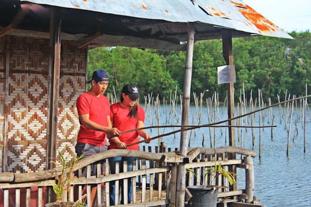 You can do fishing at Co Jordan Bangus and Talaba Eatery