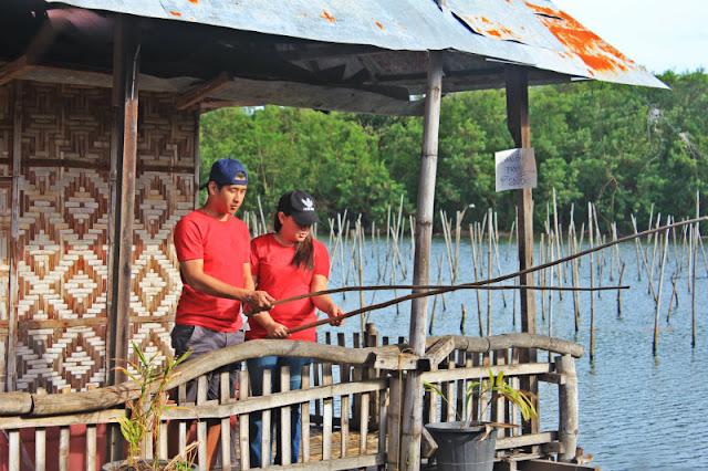 You can do fishing at Co Jordan Bangus and Talaba Eatery