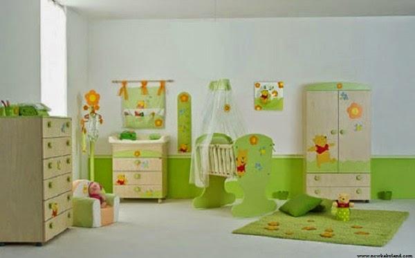 Idée décoration chambre bébé winnie l'ourson