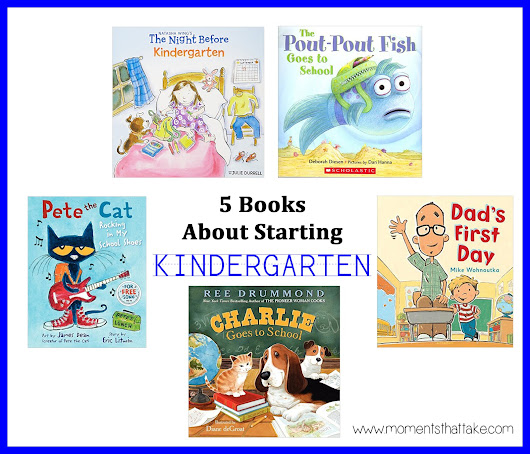 5 Books About Starting Kindergarten