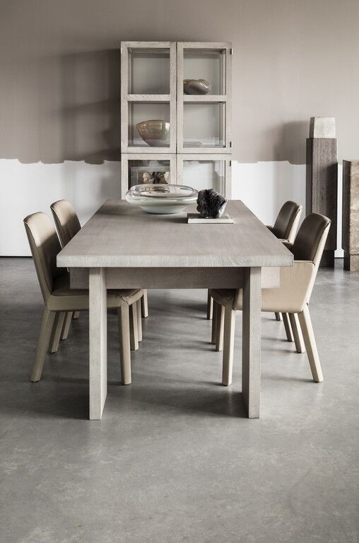 Piet Boon Studio dining table and chairs bespoke design