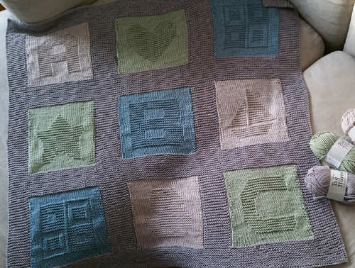 ABC Baby Blanket - Free Pattern