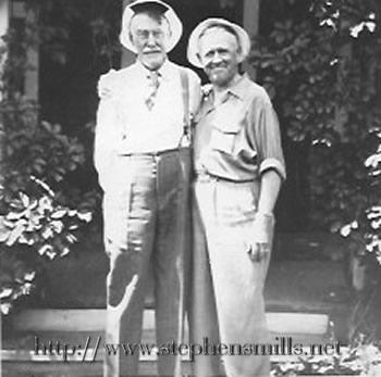 photo Walter Bacon and Ralph Bacon