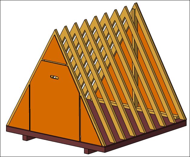 Nia Naturo Vasa: Considering a triangular shed...