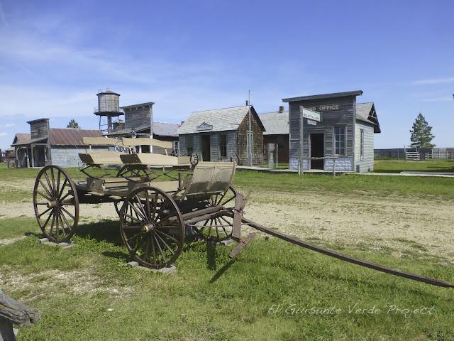 1880 Town - Dakota del Sur, Carreta
