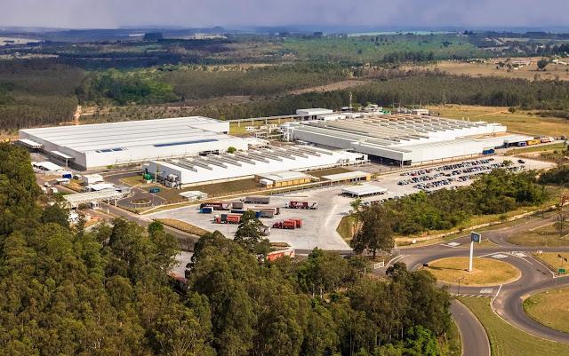 Fábrica da Volkswagen em São Carlos (SP)