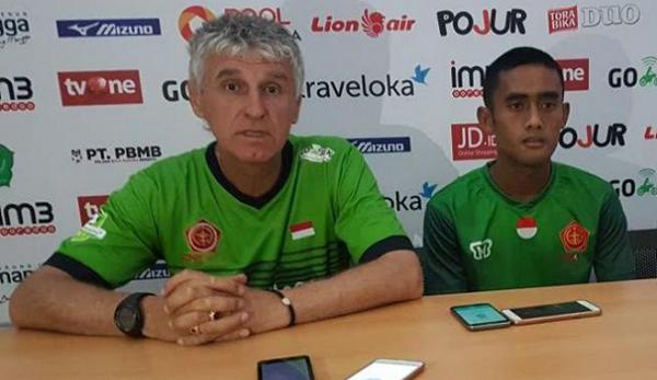 PS TNI Diambang Degradasi, Ivan Kolev Salahkan Manajemen