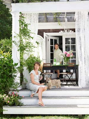 D cor de provence east hampton on a budget - Beach house decorating ideas on a budget ...