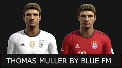 PES 2013 Thomas Muller Faces By BLUE FM