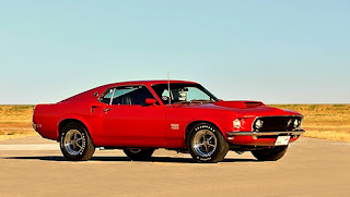 1969 Ford Mustang Boss 429 Front Right