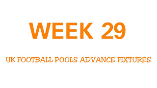 UK football pools fixtures