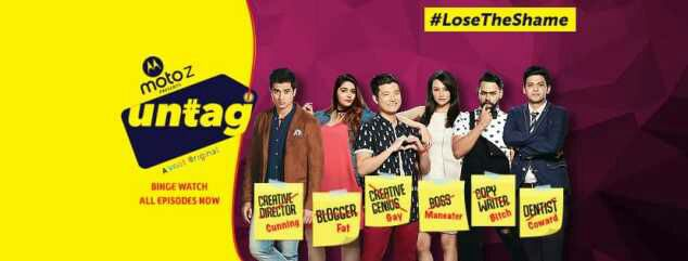 """Untag"" Web Series on VOOT and YouTube Plot Wiki,Cast"