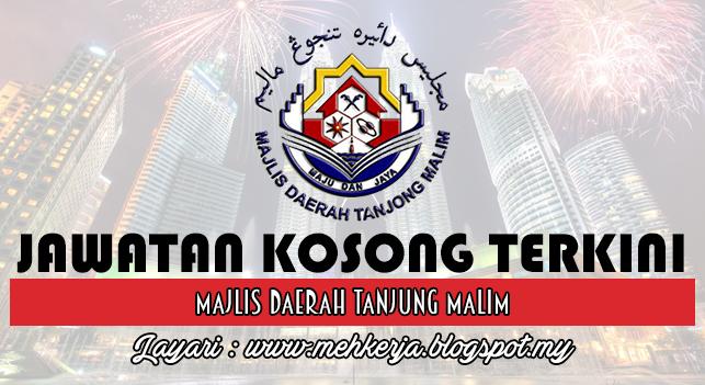 Jawatan Kosong Terkini 2016 di Majlis Daerah Tanjung Malim