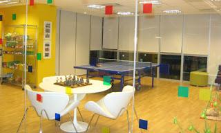 Lugar de trabajo con diseño original y comodo