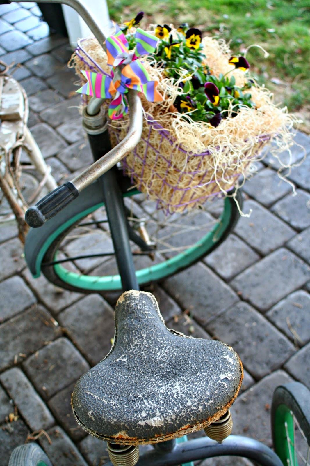 Marvinsdaughters Paula S Spring Porch Vintage Bike