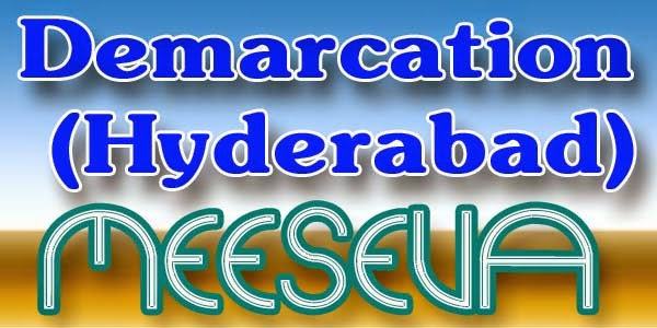 Demarcation (Hyderabad) Apply Meeseva