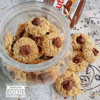 Ide Resep Kue Kering Nutella Cheese Thumbprint Cookies