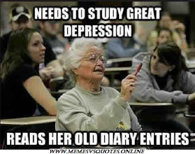 Need To Study Great Depression
