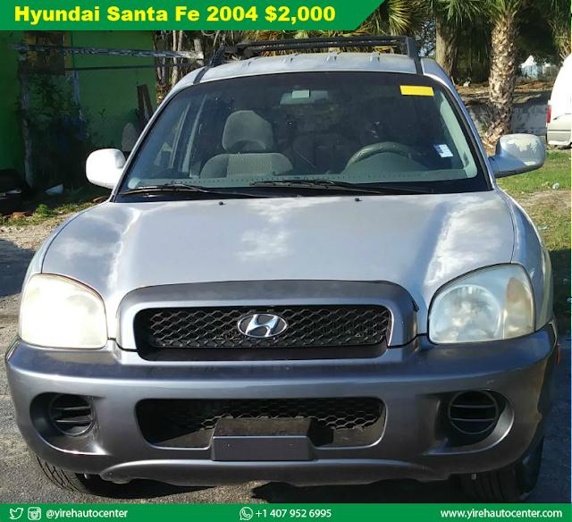 Hyundai Santa Fe standard 2004 - Yireh Auto Center