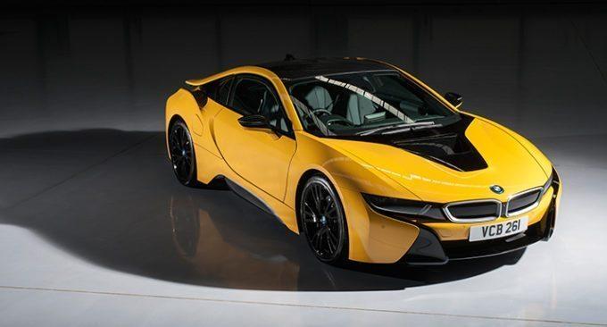 6 màu sắc mới tuyệt đẹp cho siêu xe BMW i8