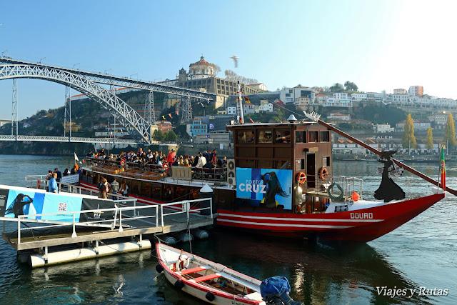 Barco crucero de los seis puentes, Oporto