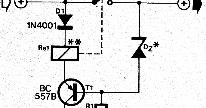 [DIAGRAM] Relay Normally On Circuit With Positive Trigger