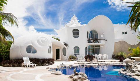 Hotel Casa Caracol en Isla Mujeres, México