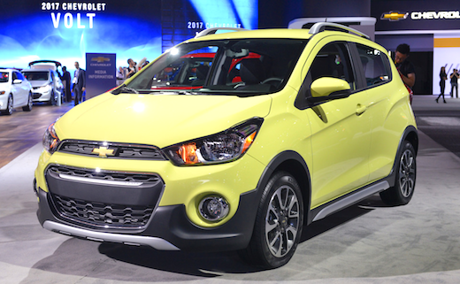 2019 Chevrolet Spark Activ Price