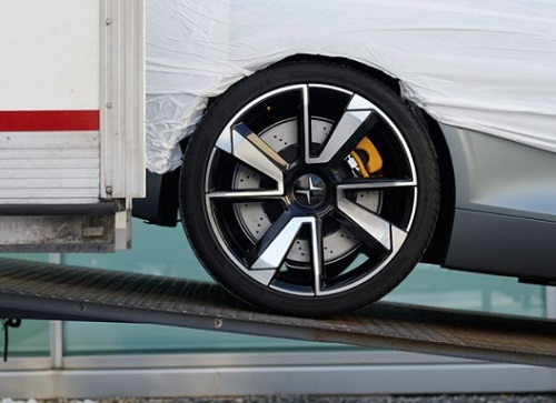 brakes supension tyre size Polestar 1