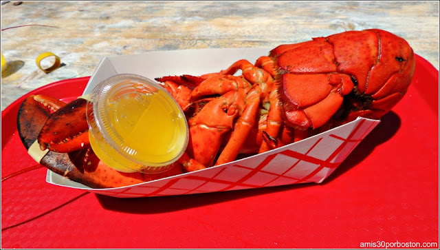 Lobster Shacks en Massachusetts:Langosta en el Roy Moore Lobster Company